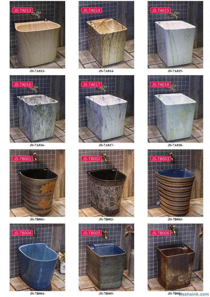 2020-VOL02-jingdezhen-shengjiang-ceramic-art-basin-washsink-brochure-JS-002-724x1024 Two wash basin catalogues produced by Shengjiang Ceramics Company will be released in 2020.9.14 - shengjiang  ceramic  factory   porcelain art hand basin wash sink