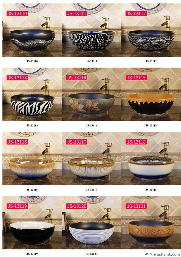 2020-VOL02-jingdezhen-shengjiang-ceramic-art-basin-washsink-brochure-JS-020-724x1024 Two wash basin catalogues produced by Shengjiang Ceramics Company will be released in 2020.9.14 - shengjiang  ceramic  factory   porcelain art hand basin wash sink