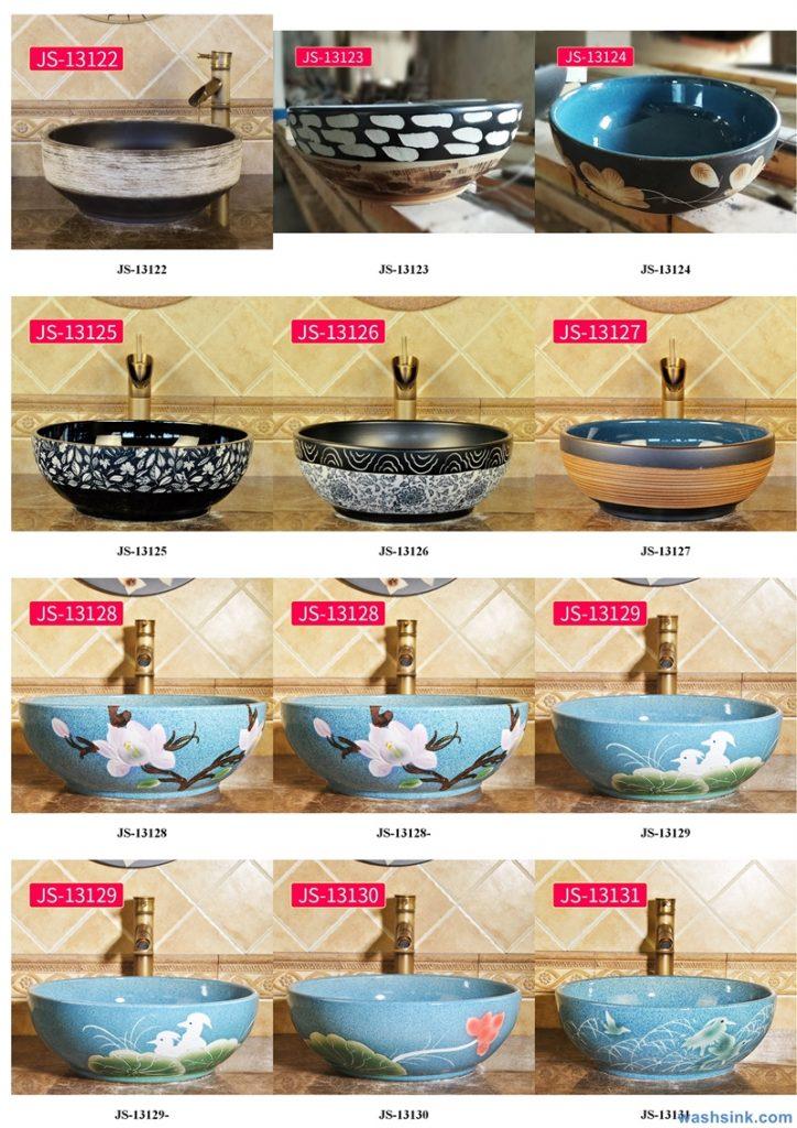2020-VOL02-jingdezhen-shengjiang-ceramic-art-basin-washsink-brochure-JS-021-724x1024 Two wash basin catalogues produced by Shengjiang Ceramics Company will be released in 2020.9.14 - shengjiang  ceramic  factory   porcelain art hand basin wash sink