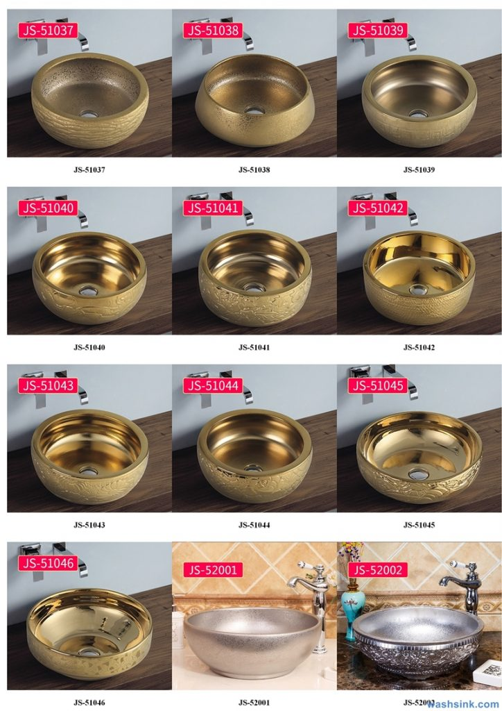 2020-VOL02-jingdezhen-shengjiang-ceramic-art-basin-washsink-brochure-JS-049-724x1024 Two wash basin catalogues produced by Shengjiang Ceramics Company will be released in 2020.9.14 - shengjiang  ceramic  factory   porcelain art hand basin wash sink