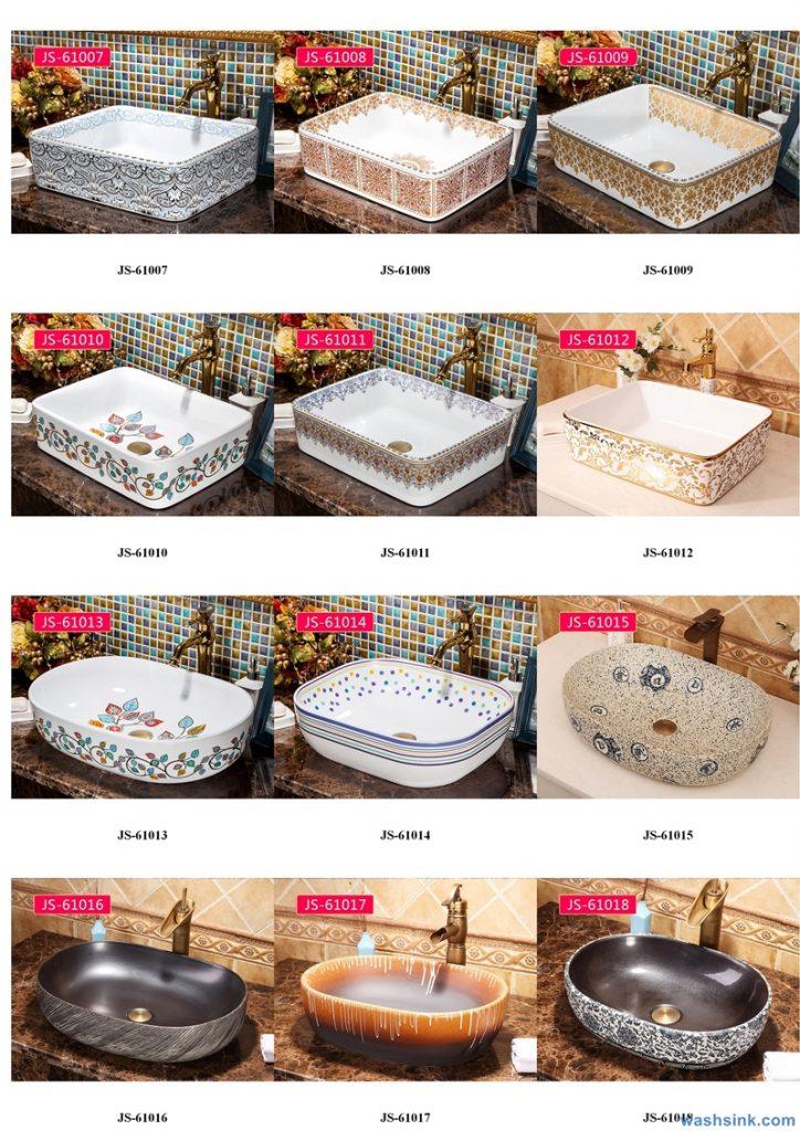 2020-VOL02-jingdezhen-shengjiang-ceramic-art-basin-washsink-brochure-JS-052-724x1024 Two wash basin catalogues produced by Shengjiang Ceramics Company will be released in 2020.9.14 - shengjiang  ceramic  factory   porcelain art hand basin wash sink