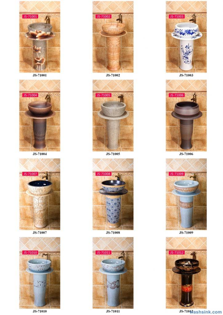 2020-VOL02-jingdezhen-shengjiang-ceramic-art-basin-washsink-brochure-JS-065-724x1024 Two wash basin catalogues produced by Shengjiang Ceramics Company will be released in 2020.9.14 - shengjiang  ceramic  factory   porcelain art hand basin wash sink