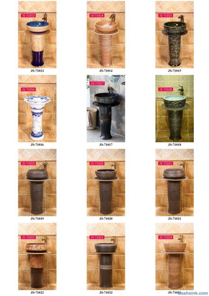 2020-VOL02-jingdezhen-shengjiang-ceramic-art-basin-washsink-brochure-JS-066-724x1024 Two wash basin catalogues produced by Shengjiang Ceramics Company will be released in 2020.9.14 - shengjiang  ceramic  factory   porcelain art hand basin wash sink