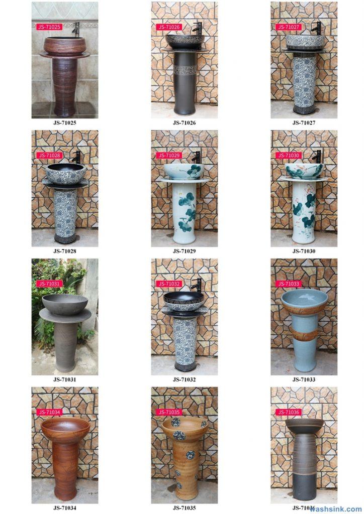 2020-VOL02-jingdezhen-shengjiang-ceramic-art-basin-washsink-brochure-JS-067-724x1024 Two wash basin catalogues produced by Shengjiang Ceramics Company will be released in 2020.9.14 - shengjiang  ceramic  factory   porcelain art hand basin wash sink