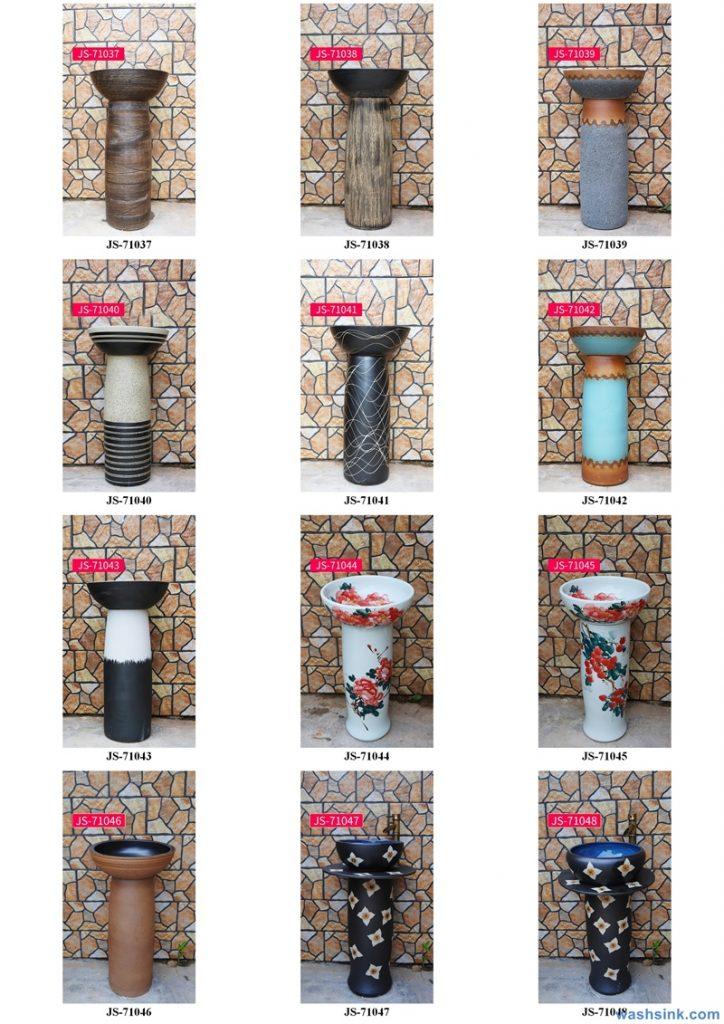 2020-VOL02-jingdezhen-shengjiang-ceramic-art-basin-washsink-brochure-JS-068-724x1024 Two wash basin catalogues produced by Shengjiang Ceramics Company will be released in 2020.9.14 - shengjiang  ceramic  factory   porcelain art hand basin wash sink
