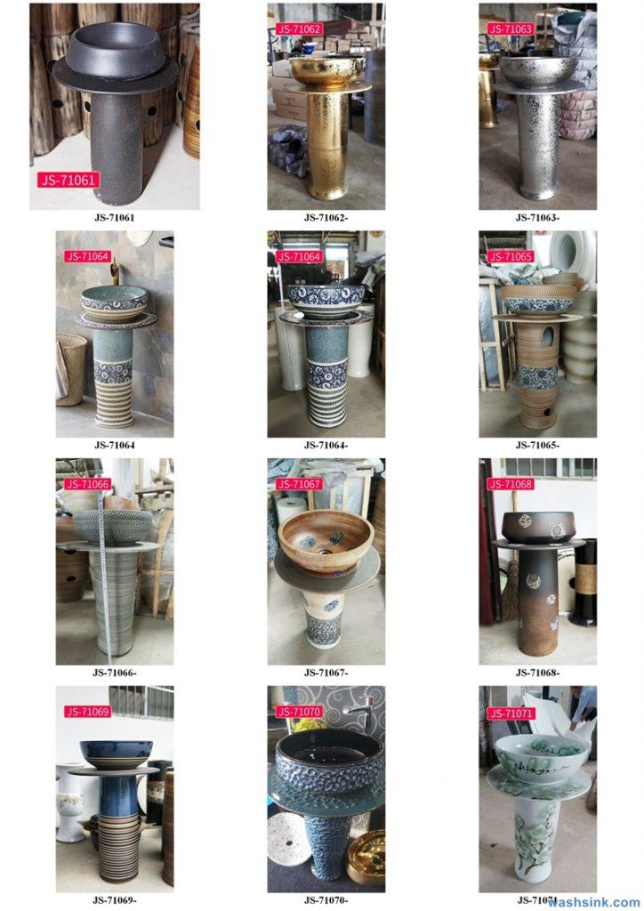 2020-VOL02-jingdezhen-shengjiang-ceramic-art-basin-washsink-brochure-JS-070-724x1024 Two wash basin catalogues produced by Shengjiang Ceramics Company will be released in 2020.9.14 - shengjiang  ceramic  factory   porcelain art hand basin wash sink