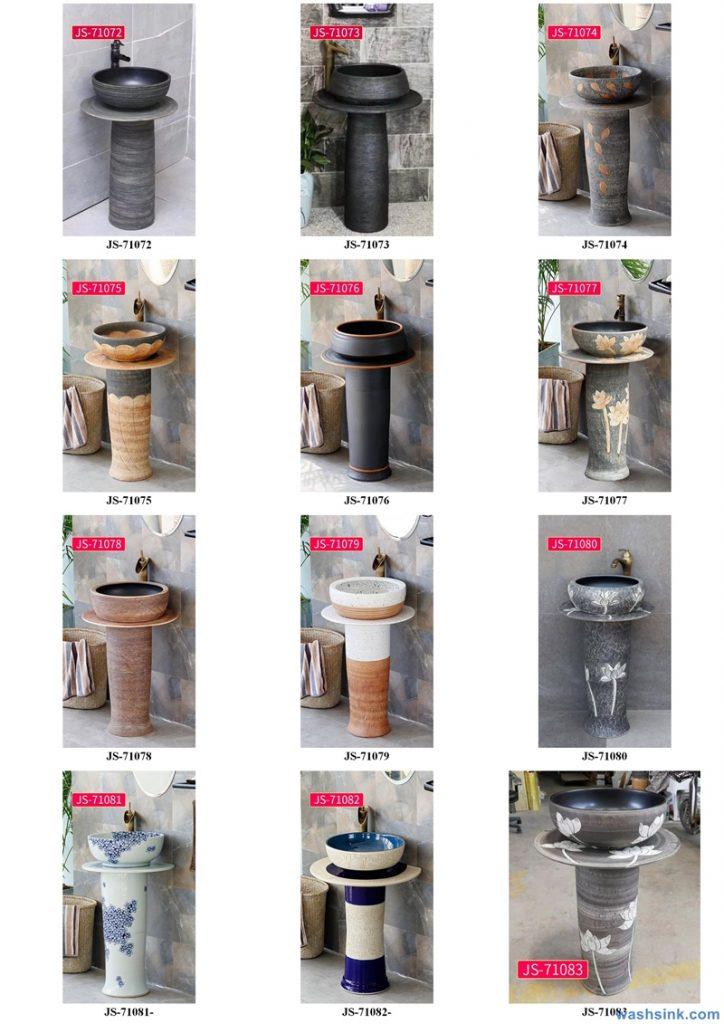 2020-VOL02-jingdezhen-shengjiang-ceramic-art-basin-washsink-brochure-JS-071-724x1024 Two wash basin catalogues produced by Shengjiang Ceramics Company will be released in 2020.9.14 - shengjiang  ceramic  factory   porcelain art hand basin wash sink