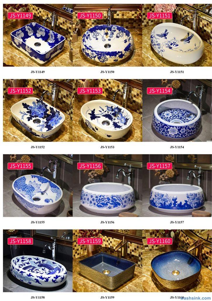 2020-VOL02-jingdezhen-shengjiang-ceramic-art-basin-washsink-brochure-JS-119-724x1024 Two wash basin catalogues produced by Shengjiang Ceramics Company will be released in 2020.9.14 - shengjiang  ceramic  factory   porcelain art hand basin wash sink