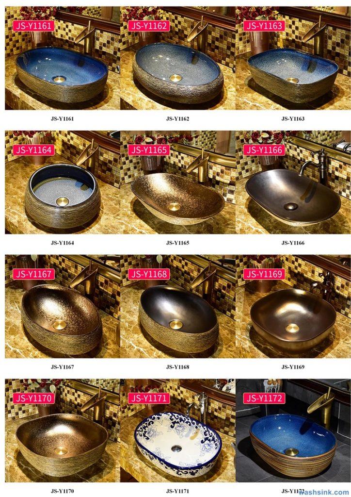 2020-VOL02-jingdezhen-shengjiang-ceramic-art-basin-washsink-brochure-JS-120-724x1024 Two wash basin catalogues produced by Shengjiang Ceramics Company will be released in 2020.9.14 - shengjiang  ceramic  factory   porcelain art hand basin wash sink
